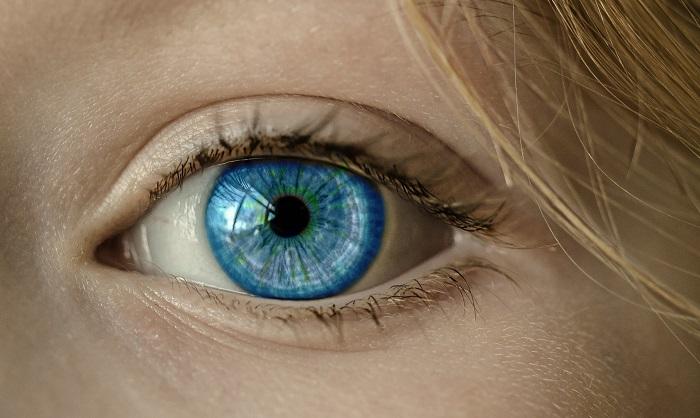 Tupozrakosť na očiach